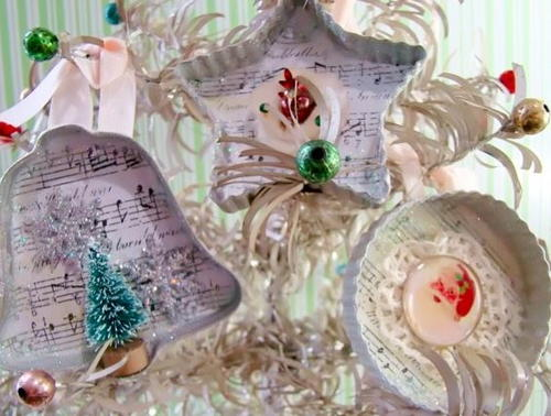 Cookie Cutter Vintage Ornaments