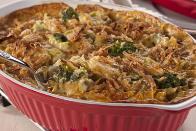 Snappy Broccoli Bake