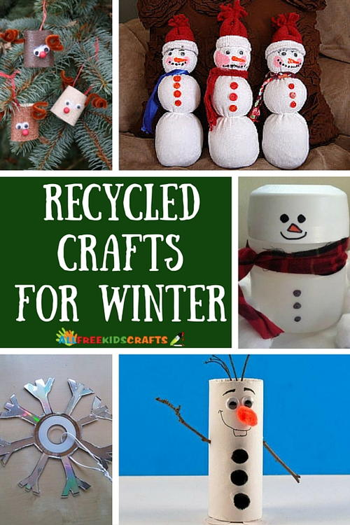 Winter Craft Ideas For Kids Easy