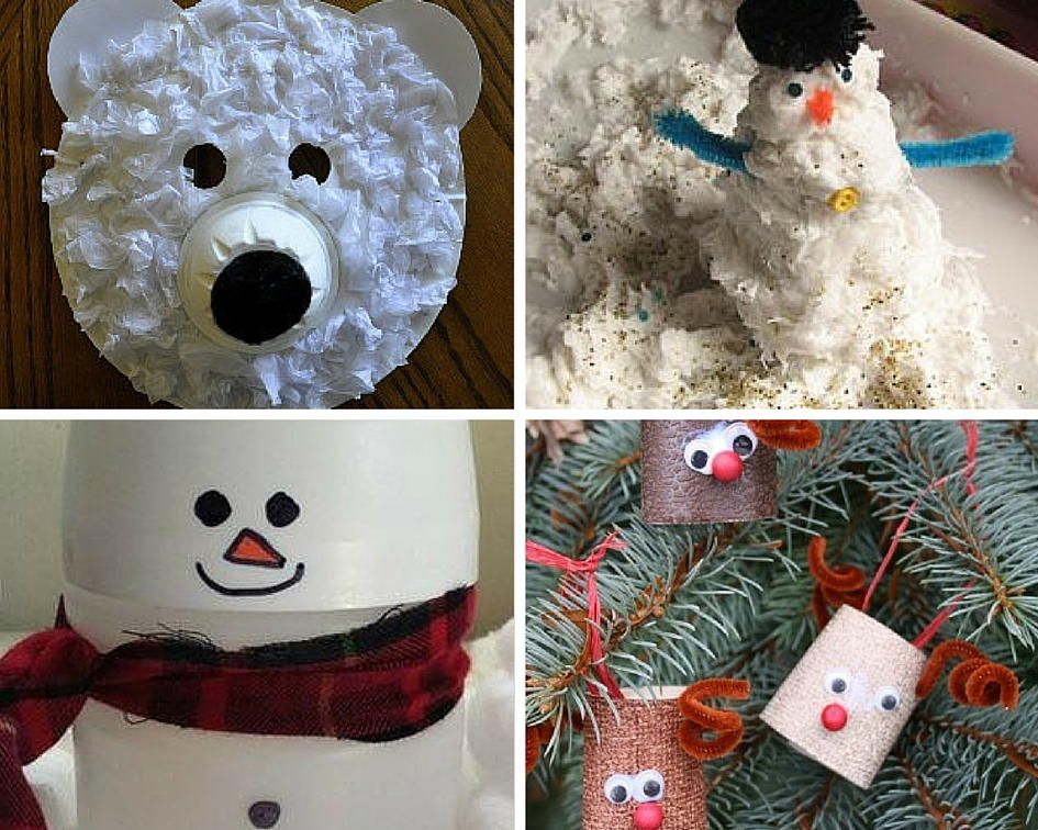 Recycled Crafts For Kids 18 Winter Crafts