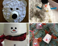 Recycled Crafts for Kids: 18 Winter Crafts