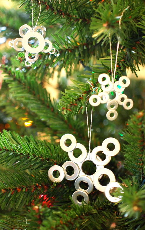 DIY Christmas Star Ornaments