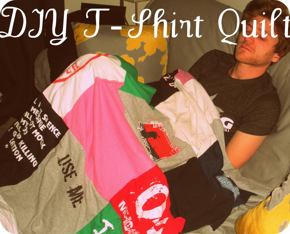 how to make a tshirt quilt youtube