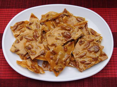 Easy Microwave Pecan Brittle