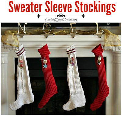 Sweater Sleeve Stocking DIY Sewing Pattern_2