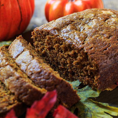 Simple Pumpkin Spice Bread