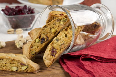 Berry Nutty Biscotti