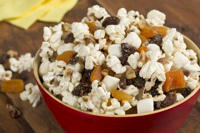 Fruit n Nut Popcorn Mix