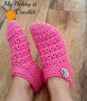 Starlight Crochet Slippers