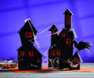 Light-Up Haunted Houses
