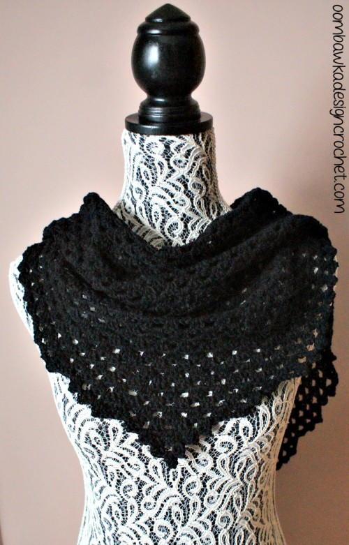 comfort crochet shawl allfreecrochet
