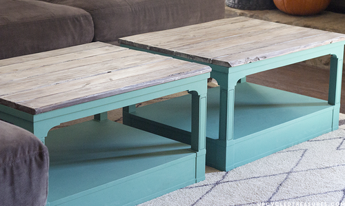 Upcycling DIY Coffee Table