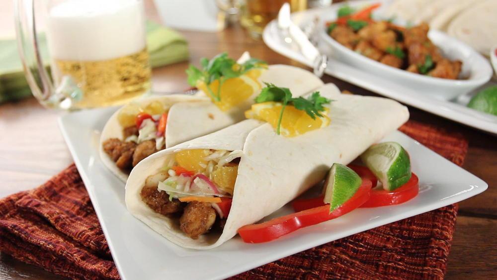 Simple Fish Tacos | MrFood.com