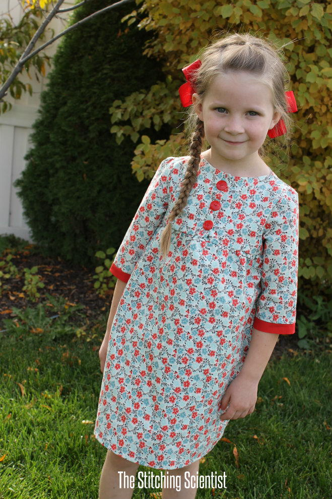 Girls Fall Tunic Dress Pattern Allfreesewing Com