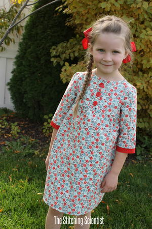 Girls' Fall Tunic Dress Pattern