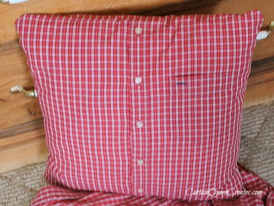 Plaid Shirt Christmas Pillows_2