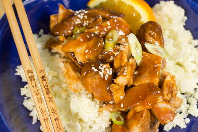 Paleo Slow Cooker Orange Chicken