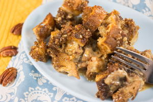 Ultimate Pecan Pie Bread Pudding