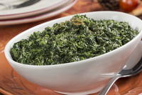 Autumn Creamed Spinach