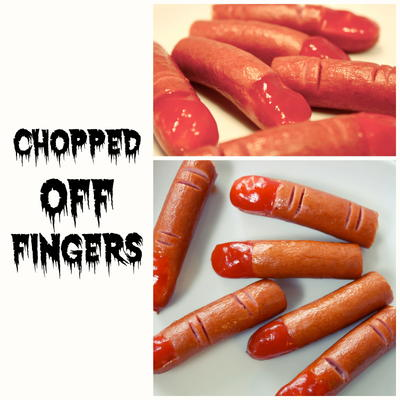 Chopped Off Finger Food