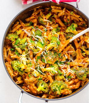 One-Pan Penne with Broccoli