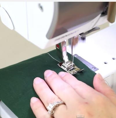 Sewing Machine Straight Stitch