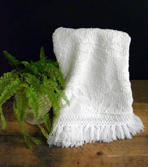 Repurposed Bedspread DIY Hand Towels