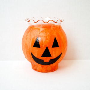 Simple Halloween Pumpkin Luminaries