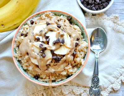 Healthy Chunky Monkey Rice Bowl