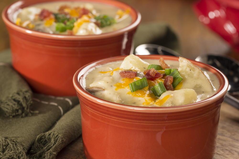 Baked Potato Soup   EverydayDiabeticRecipes.com