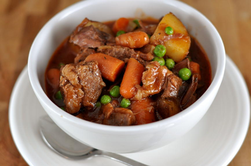 Hearty Beef Stew for Six | AllFreeSlowCookerRecipes.com