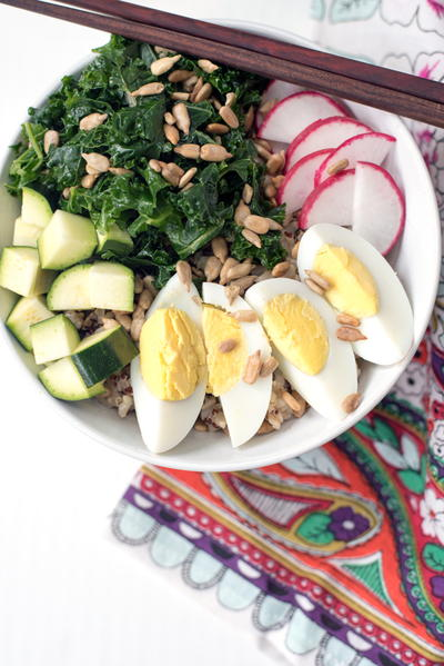 Healthy Kale and Veggie Bowls