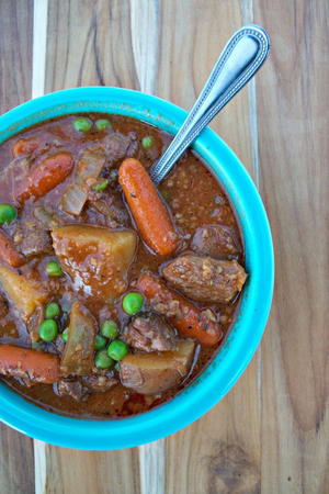All Day Slow Cooker Beef Stew