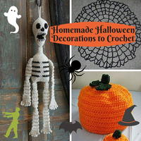 16 Homemade Halloween Decorations to Crochet