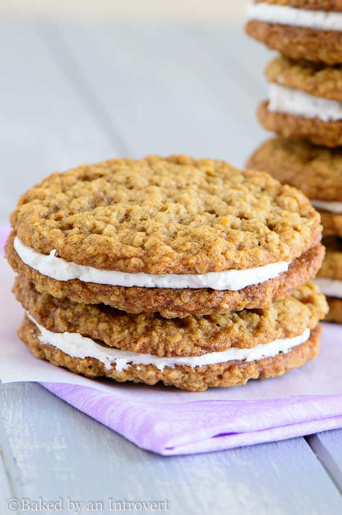 Beyond Easy Oatmeal Cream Pies