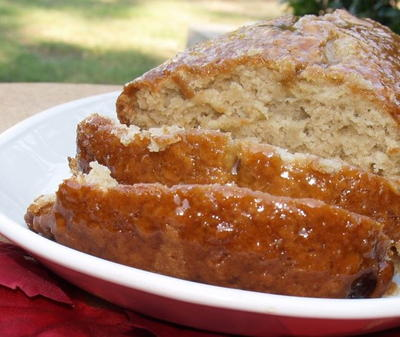 Glazed Fresh Apple Cake