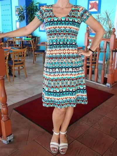 Fit and Flare Free Dress Pattern