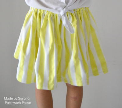 15 Minute Girls Skirt Pattern