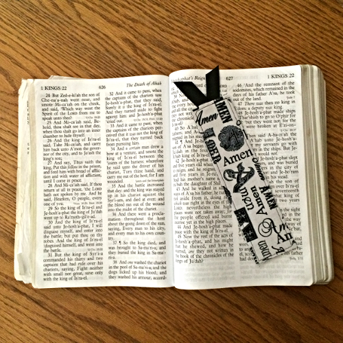 How to Sew a Bookmark