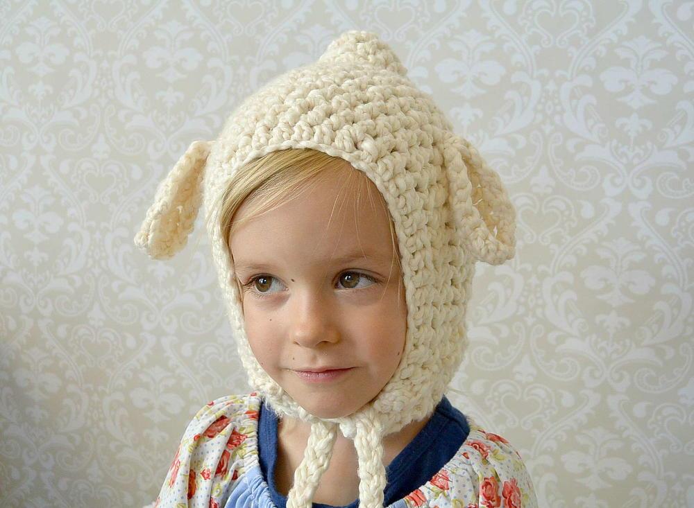 Vintage Look Lamb Crochet Hat Allfreecrochet Com
