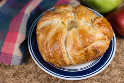 Puff Pastry with Brie and Pears