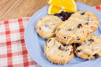 Crazy Good Cranberry Orange Cookies