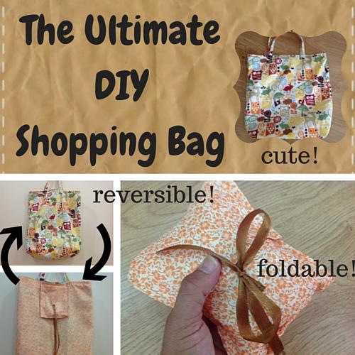 Ultimate Diy Shopping Bag Allfreesewing Com