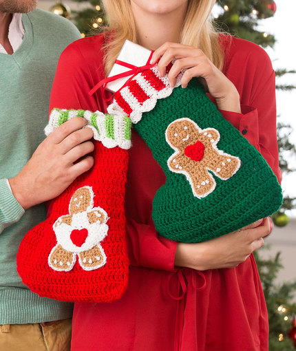 Super Sweet Gingerbread Stockings