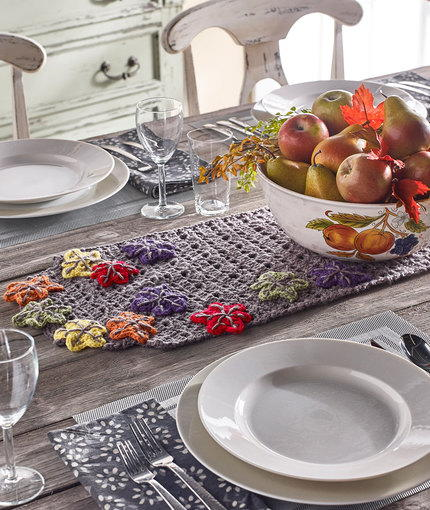Fabulous Fall Table Runner
