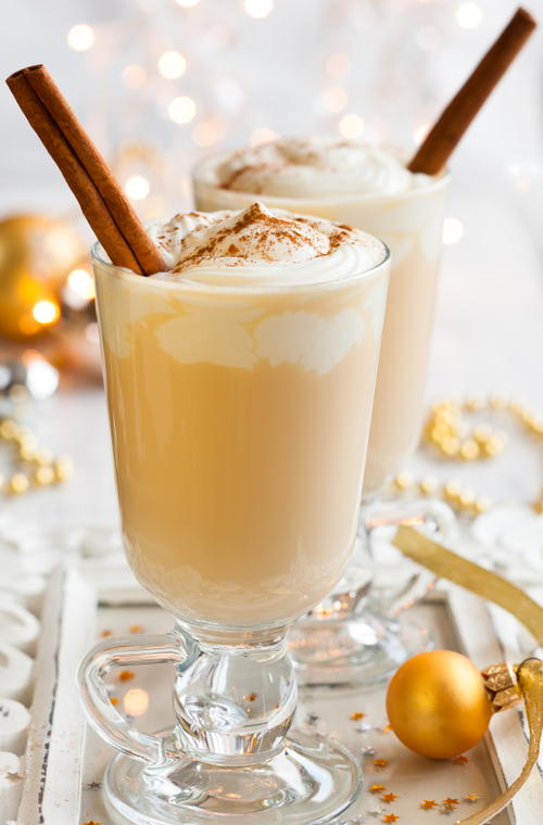 Homemade Holiday Eggnog Recipe