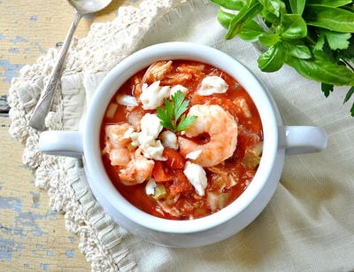 Simple Slow Cooker Cioppino