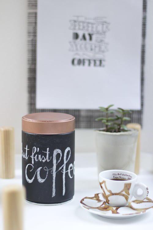 Upcycled Coffee Tin