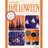 """18 Easy DIY Halloween Projects"" free eBook from FloraCraft"