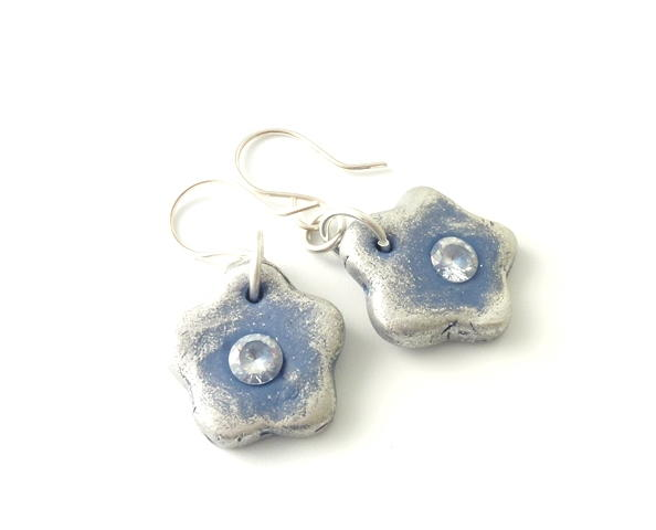 Resin Clay Flower Jewelry